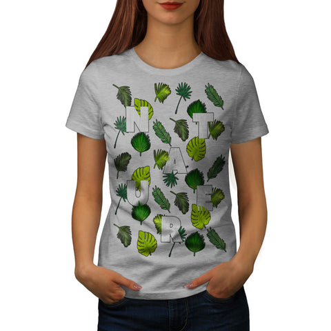 Nature Leaf Lover Womens T-Shirt