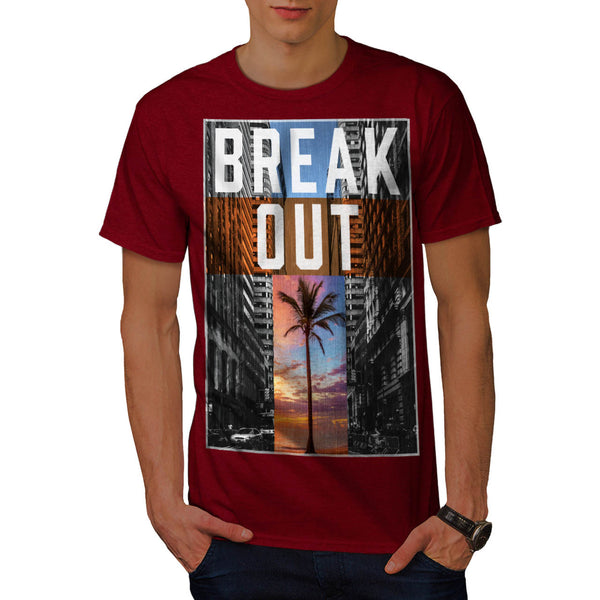 Break Out Holiday Mens T-Shirt