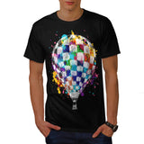 Air Balloon Journey Mens T-Shirt