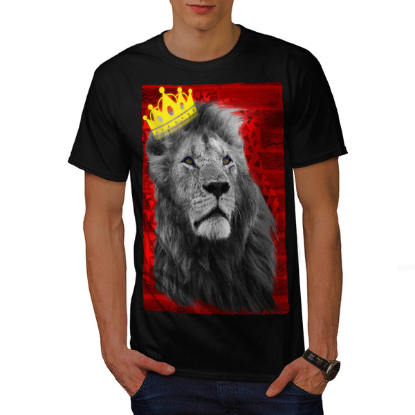 Royal Lion Kingdom Mens T-Shirt