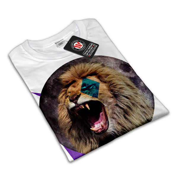 Moonlight Lion Mens T-Shirt