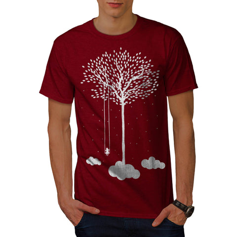 Cloud Tree Fantasy Mens T-Shirt