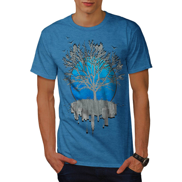 Urban Mirror Tree Mens T-Shirt