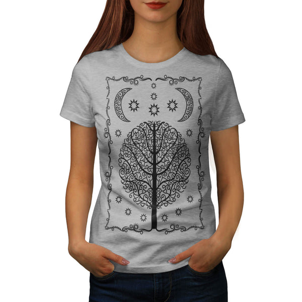 Ornament Life Tree Womens T-Shirt