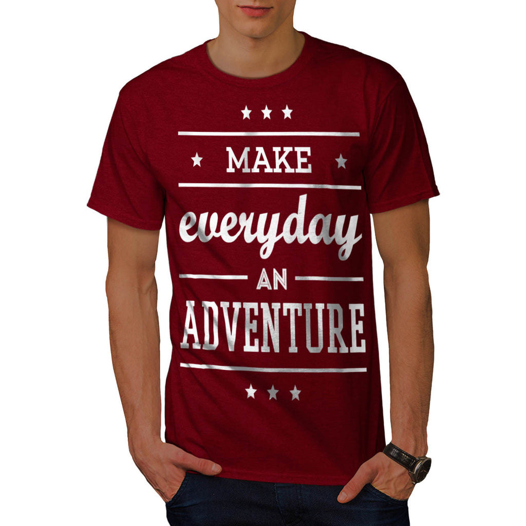 Adventure Everyday Mens T-Shirt