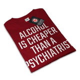 Beer Or Psichiatrist Mens T-Shirt