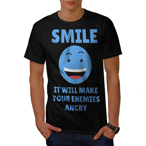Smile Helps Mens T-Shirt