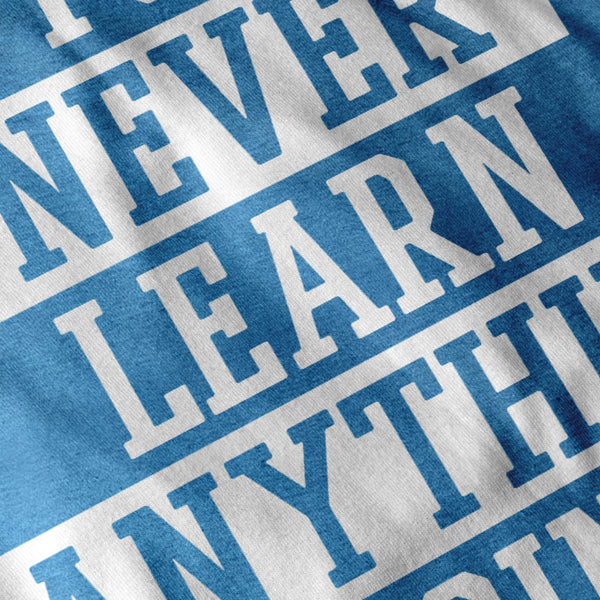 Learn From Mistakes Mens T-Shirt