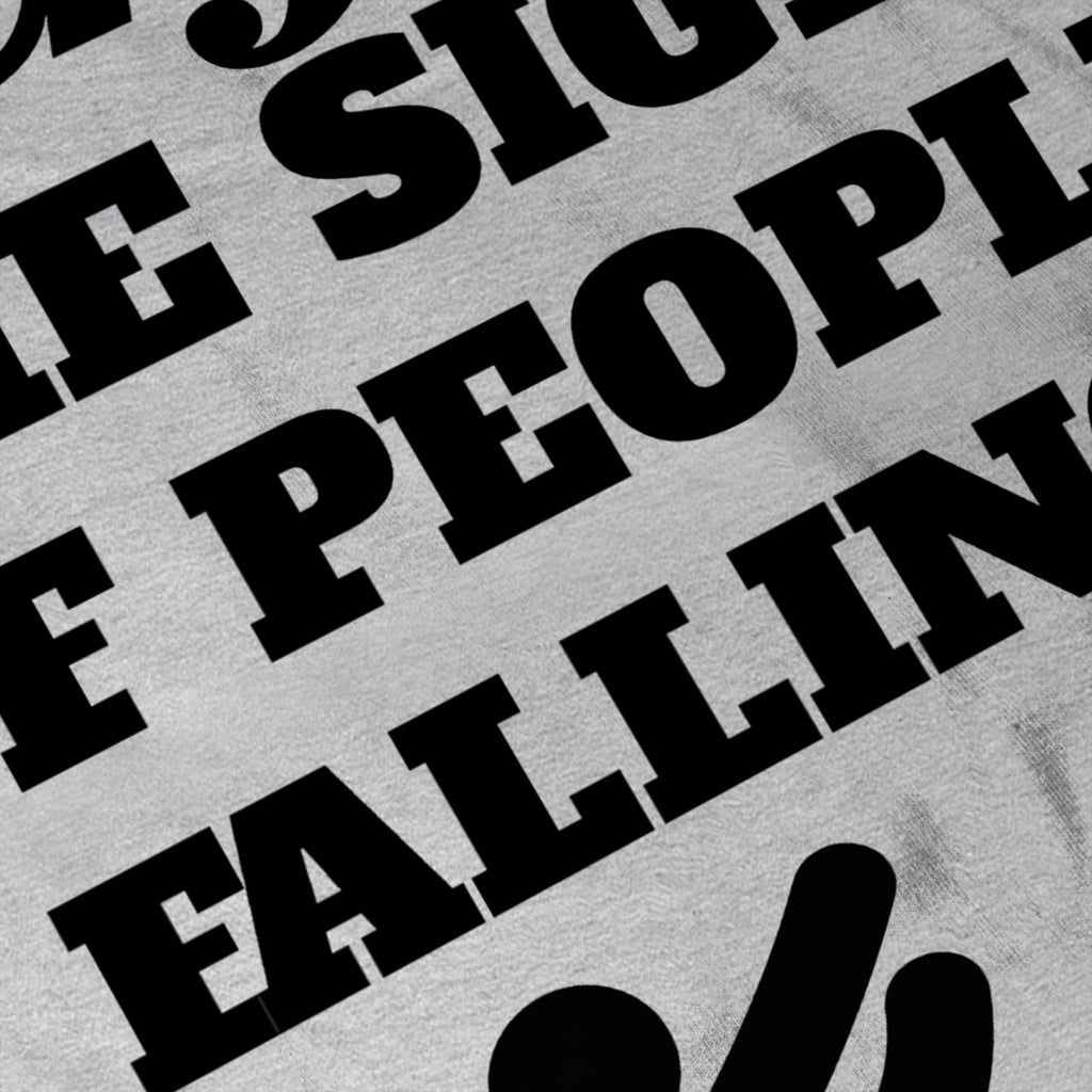 Enjoy People Falling Womens T-Shirt