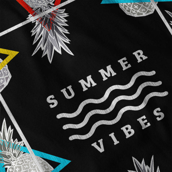 Happy Summer Vibe Mens T-Shirt
