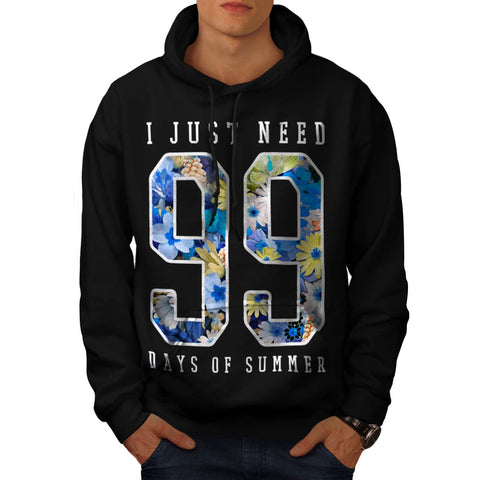 99 Days Of Summer Mens Hoodie