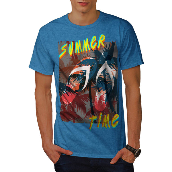 Summer Flip Flop Mens T-Shirt