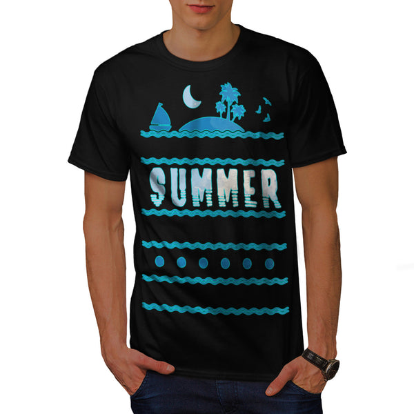 Hot Summer Vacation Mens T-Shirt