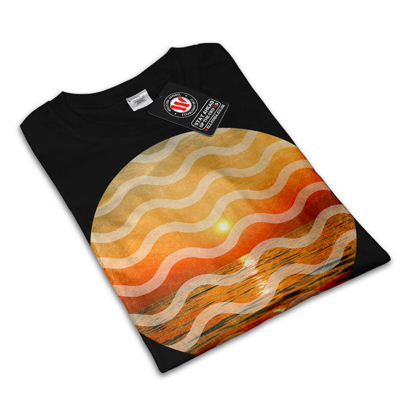 Hot Summer Vibes Mens T-Shirt