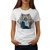 Criminal Fox Crime Womens T-Shirt