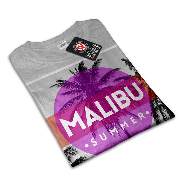 Malibu Summer Time Mens T-Shirt