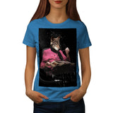 Wolf Head Grandmother Womens T-Shirt