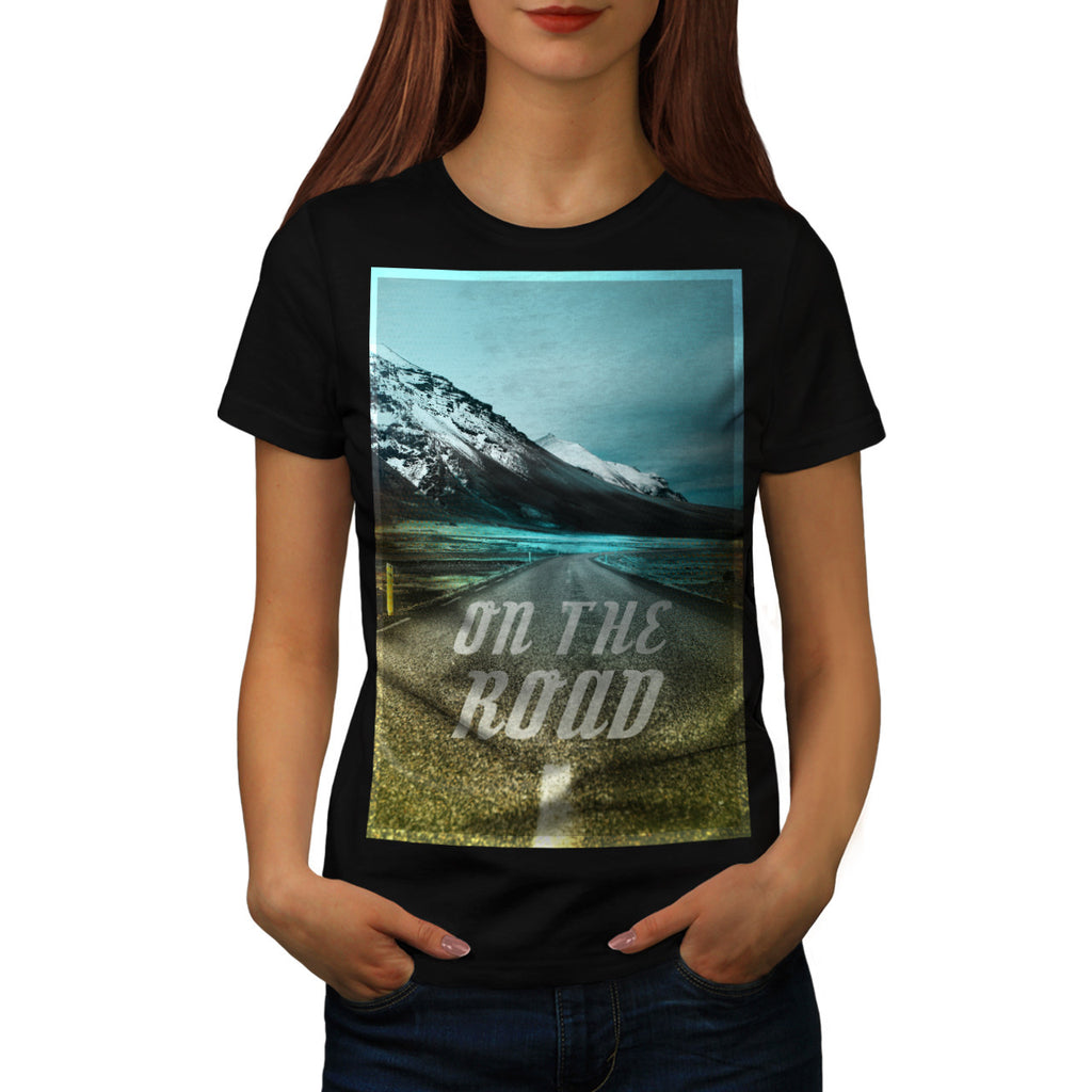 On The Road Nature Womens T-Shirt