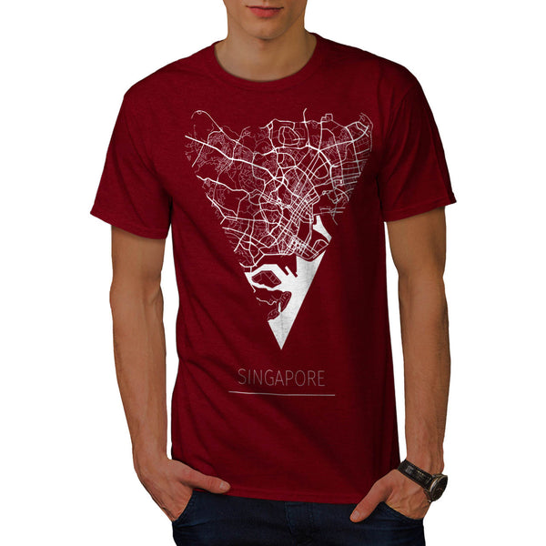 Asia City Singapore Mens T-Shirt