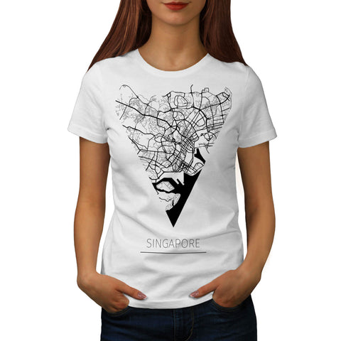 Asia City Singapore Womens T-Shirt