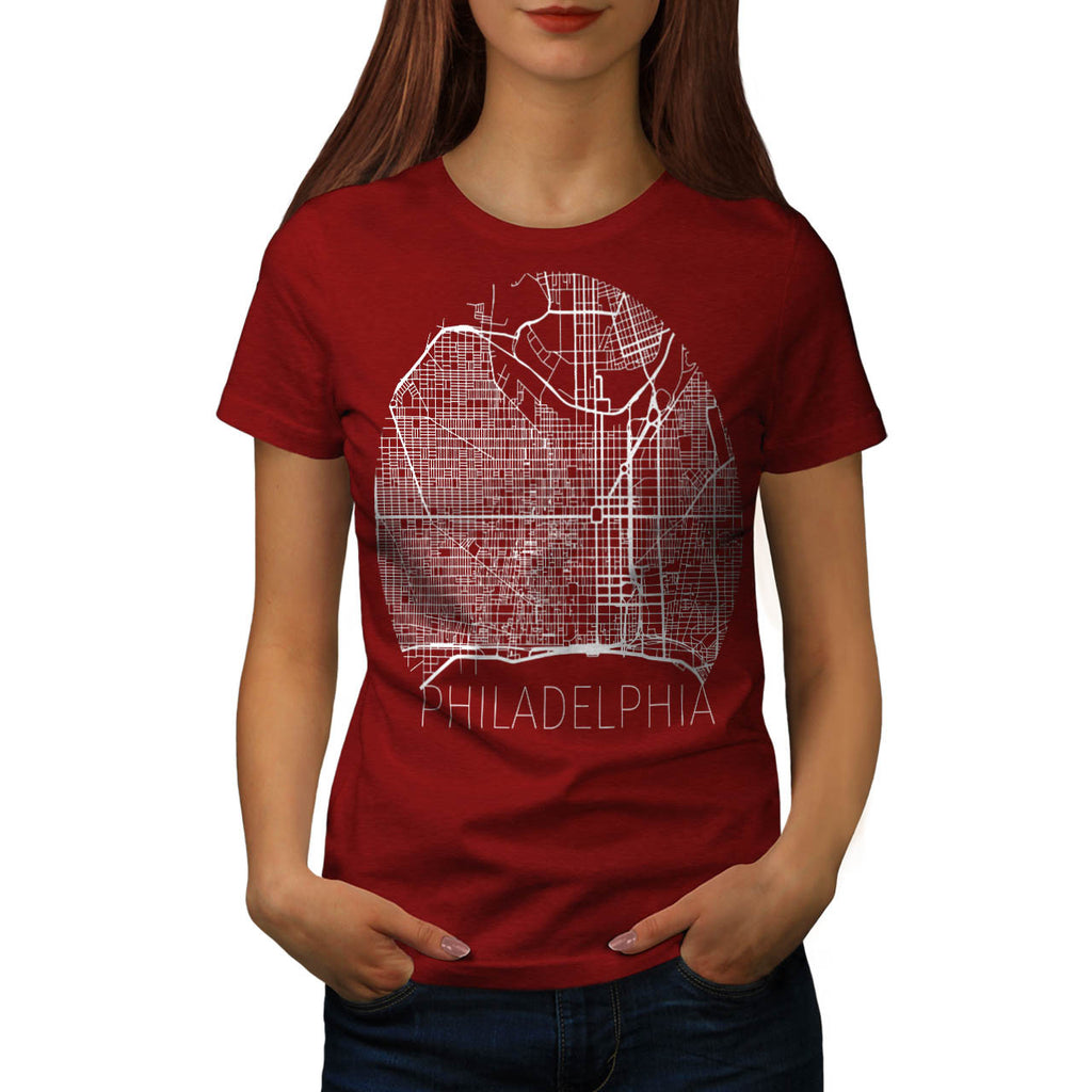 America Philadelphia Womens T-Shirt