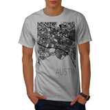 America Texas Austin Mens T-Shirt