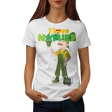 Love Nature Rasta Womens T-Shirt
