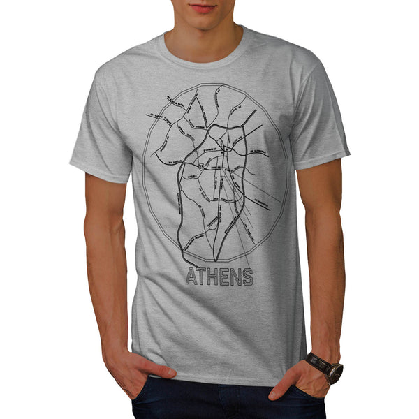 Greece City Athens Mens T-Shirt