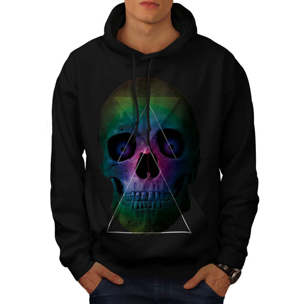 Skull Head Horror Art Mens Hoodie