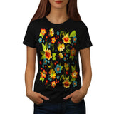 Flower Power Garden Womens T-Shirt