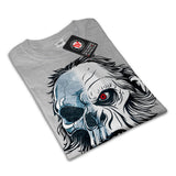 Skull Head Beast Art Womens T-Shirt