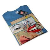 Playful Merilyn Dada Womens T-Shirt