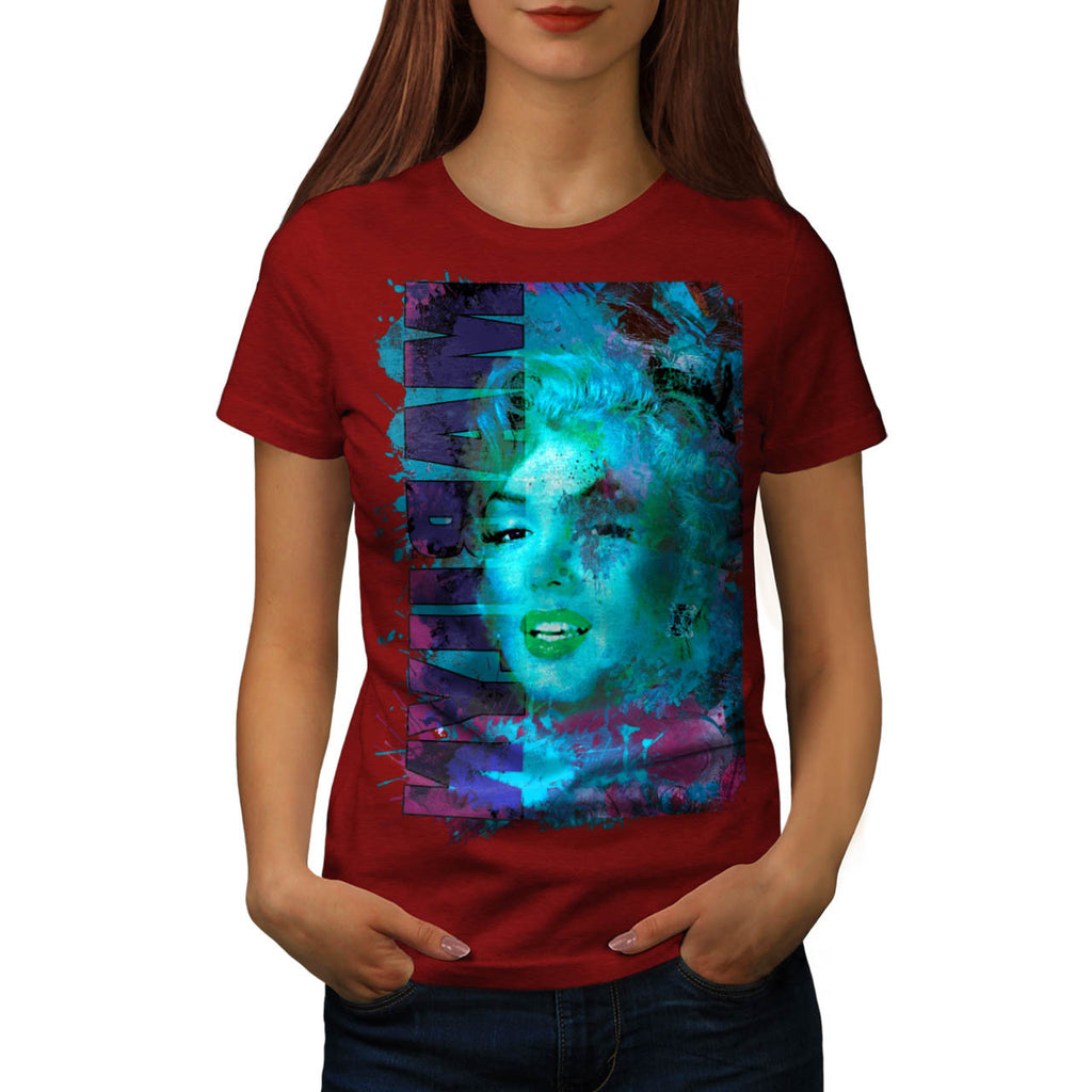 Marilyn Monroe Foto Womens T-Shirt