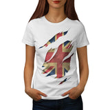 United Kingdom Flag Womens T-Shirt