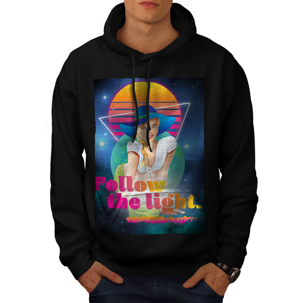 Follow Sun Light Mens Hoodie