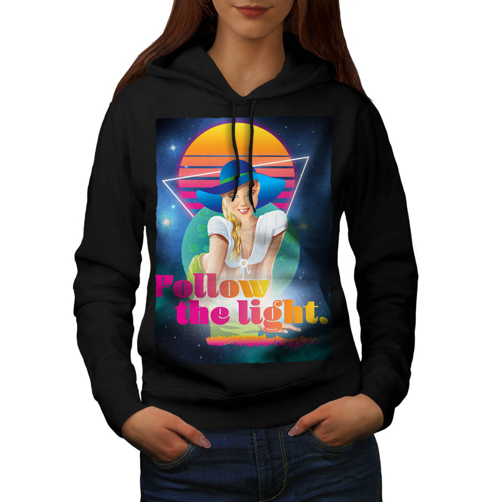 Follow Sun Light Womens Hoodie