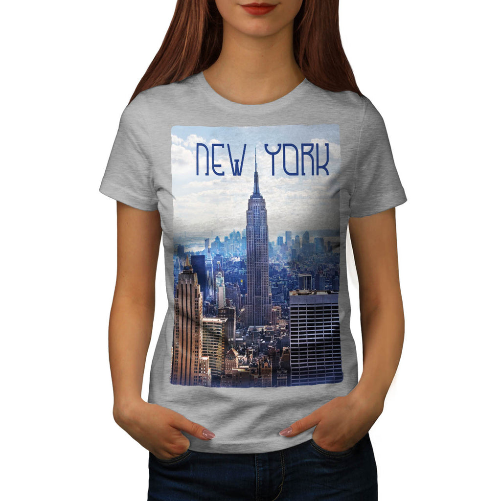 New York City NYC USA Womens T-Shirt