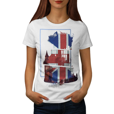 United Kingdom Symbol Womens T-Shirt