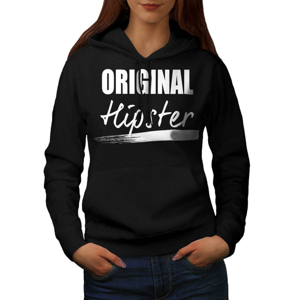 The Original Hipster Womens Hoodie
