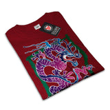 Fantasy Dragon China Womens T-Shirt