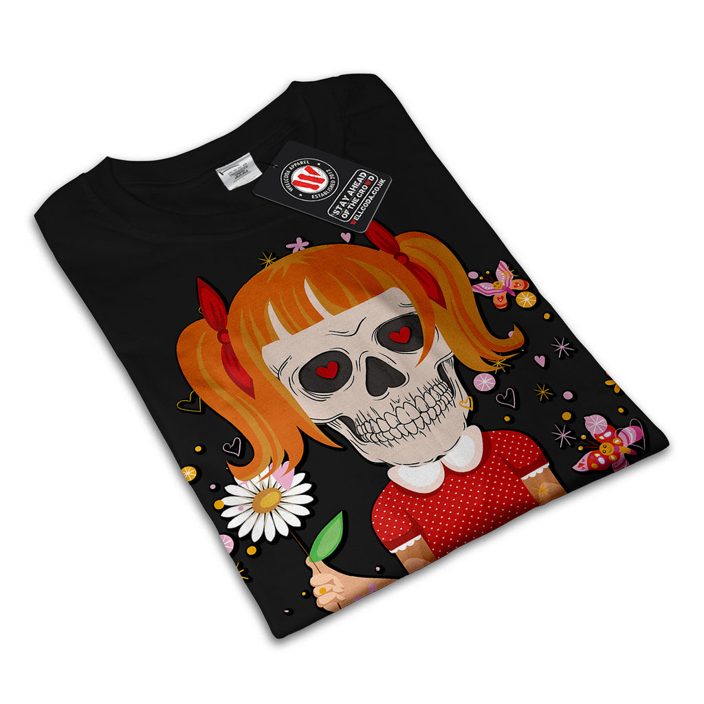 Skull Sugar Costume Womens T-Shirt