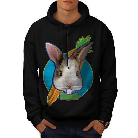 Animal Bunny Rabbit Mens Hoodie
