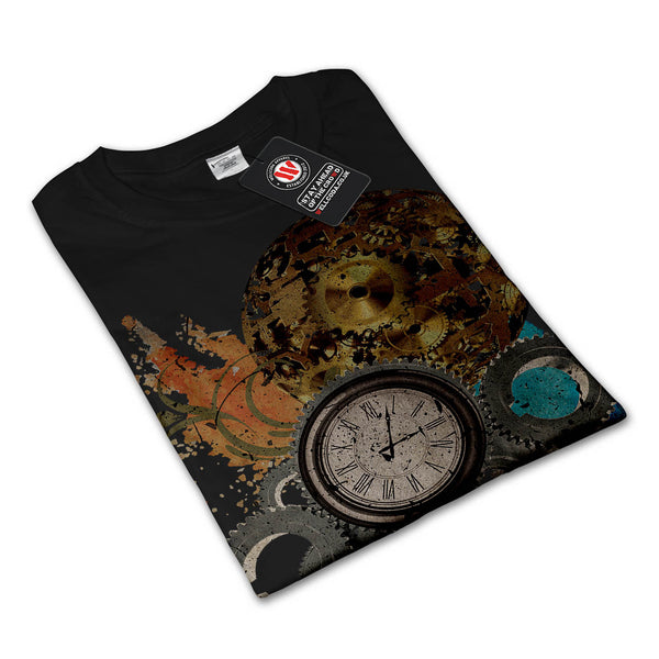 Time Travel Machine Womens Long Sleeve T-Shirt