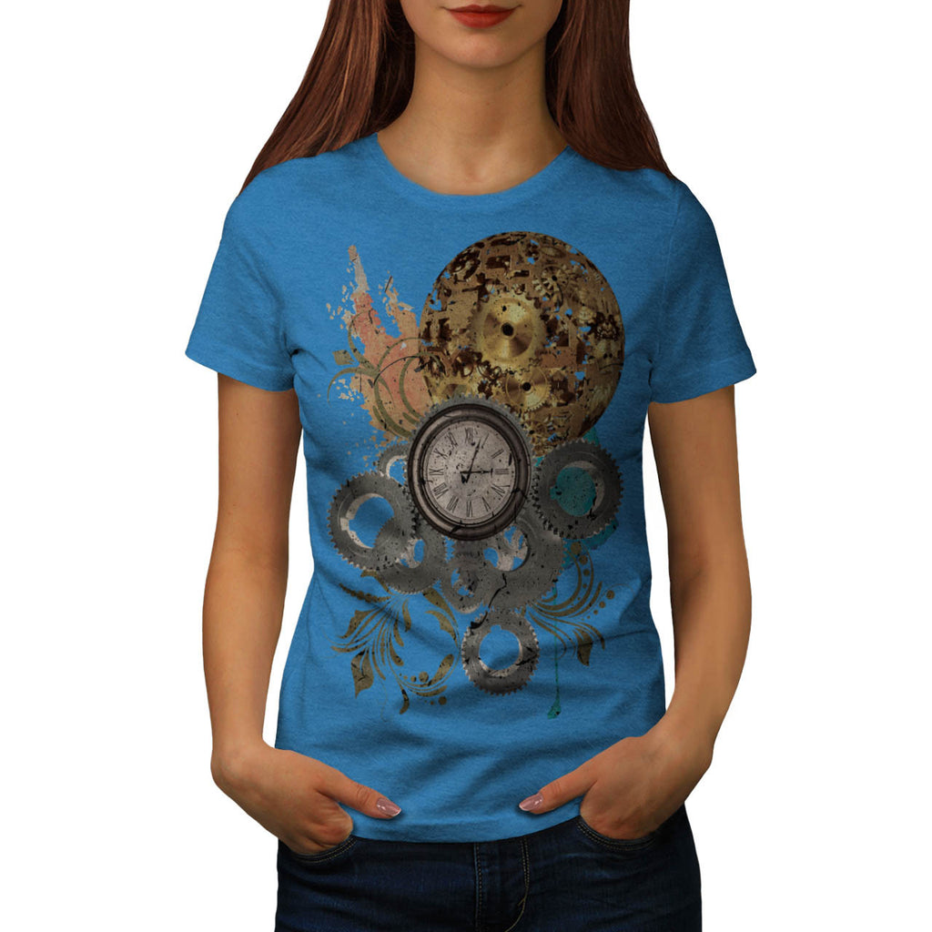 Time Travel Machine Womens T-Shirt