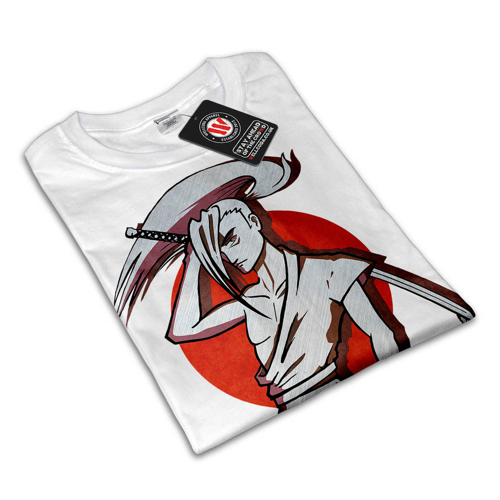 Japan Samurai Sword Womens T-Shirt