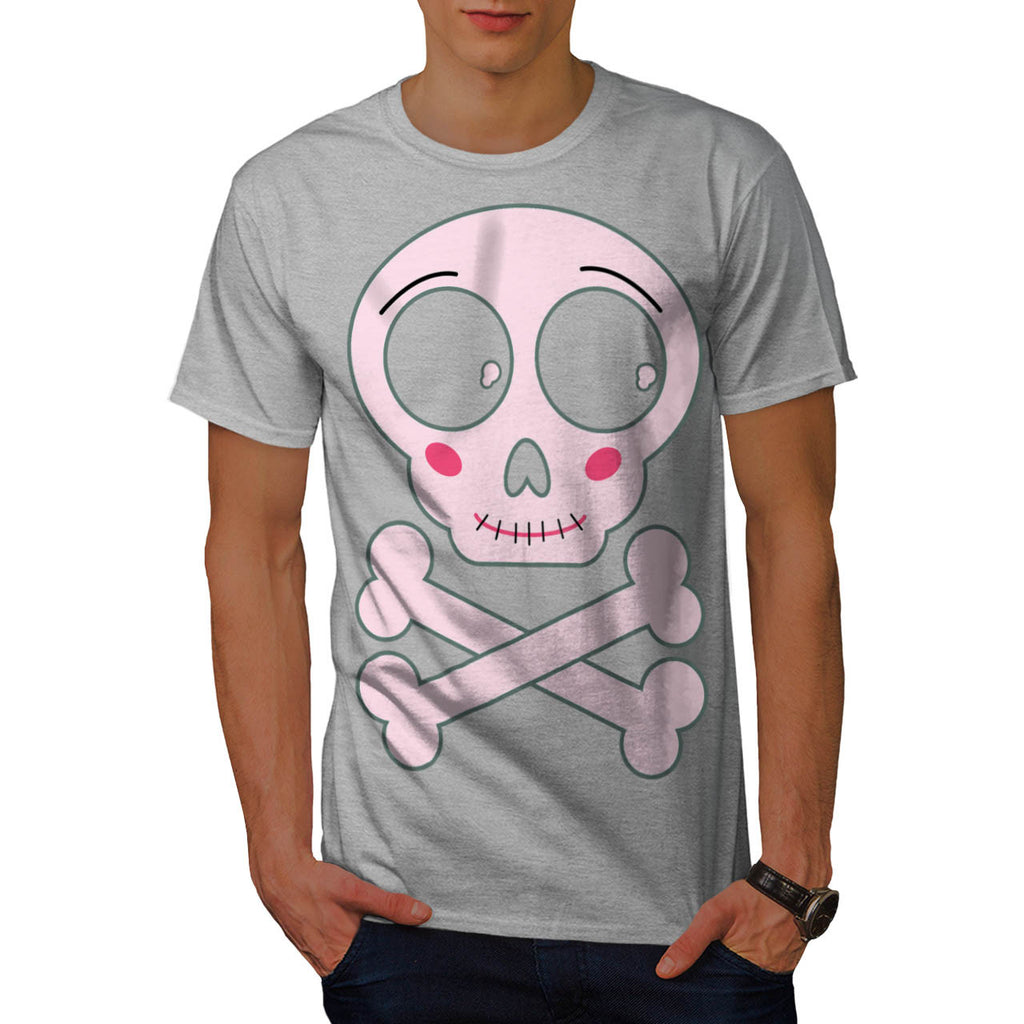 Skull Sugar Crossbone Mens T-Shirt