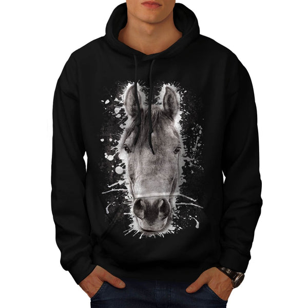 Animal Horse Nature Mens Hoodie
