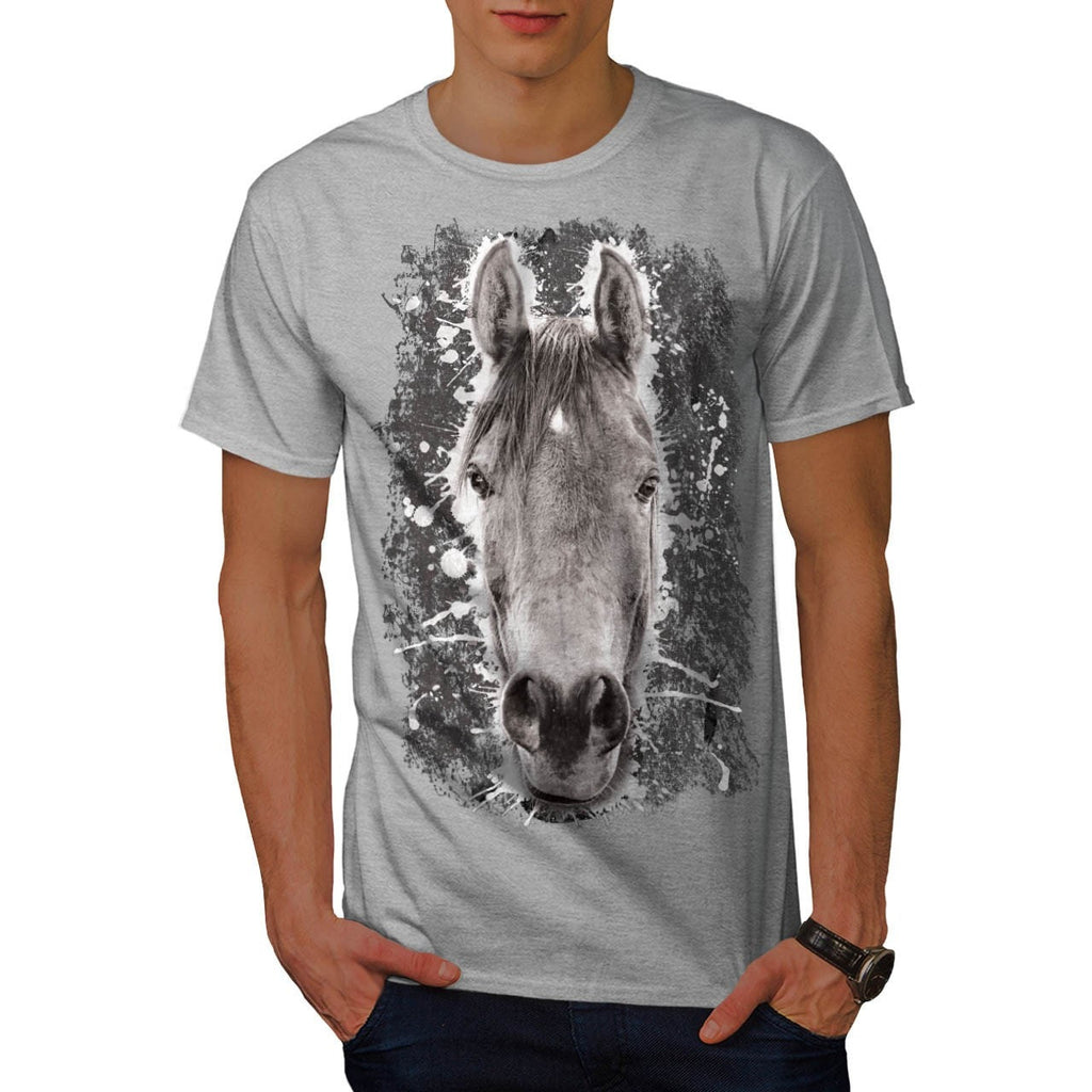 Animal Horse Nature Mens T-Shirt