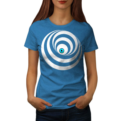 Optical Illusion Eye Womens T-Shirt