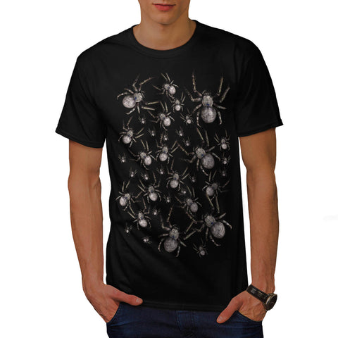 Spider Spooky Fear Mens T-Shirt